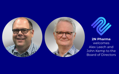 2N Pharma Announces Appointment of Alex Leech as Chair of the Board of Directors and John Kemp as Non-Executive Director